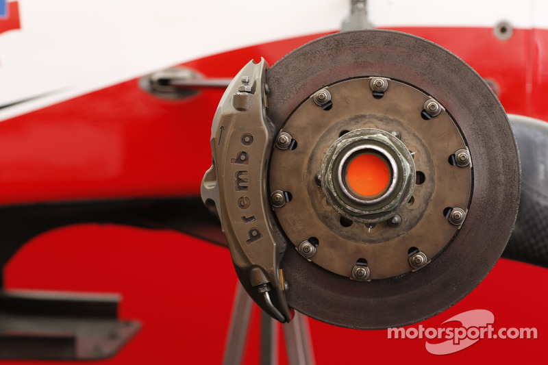 Brake detail