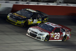 Kevin Harvick and Greg Biffle