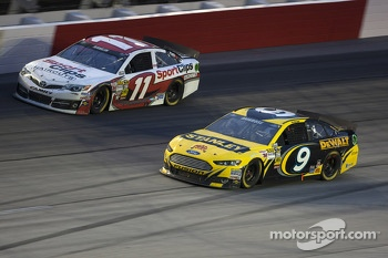 Marcos Ambrose and Denny Hamlin