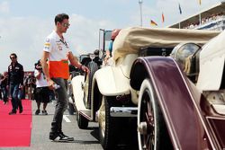Adrian Sutil, Sahara Force India F1 on the drivers parade