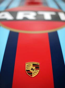 Sebastien Loeb, Porsche AG logo