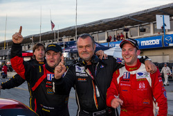#30 NGT Motorsport crew celebrate