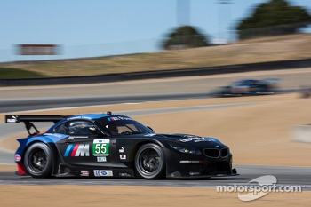 #55 BMW Team RLL BMW Z4 GTE: Bill Auberlen, Maxime Martin