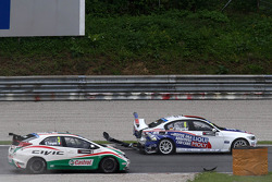 Crash, Franz Engstler, BMW E90 320 TC, Liqui Moly Team