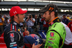 Marco Andretti and James Hinchcliffe