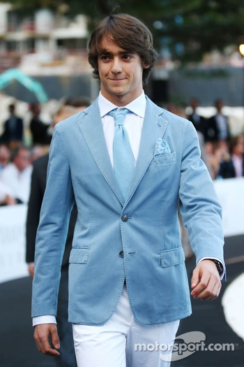Esteban Gutierrez, Sauber at the Amber Lounge Fashion Show