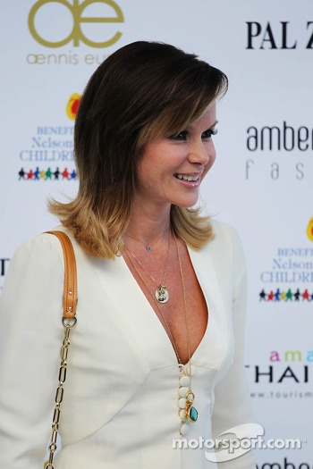 Amanda Holden, at the Amber Lounge Fashion Show