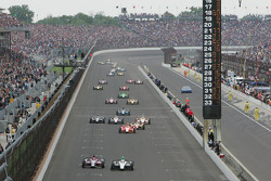 Front straight action