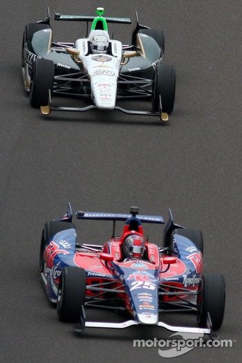Marco Andretti and Ed Carpenter