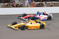 Ryan Hunter-Reay and Conor Daly