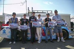 Polesitter Denny Hamlin, Joe Gibbs Racing Toyota