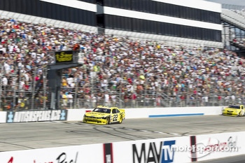 Joey Logano takes the win
