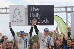 Winners Jari-Matti Latvala and Miikka Anttila, Volkswagen Polo WRC, Volkswagen Motorsport