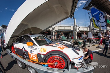 #75 ProSpeed Competition Porsche 911 GT3-RSR