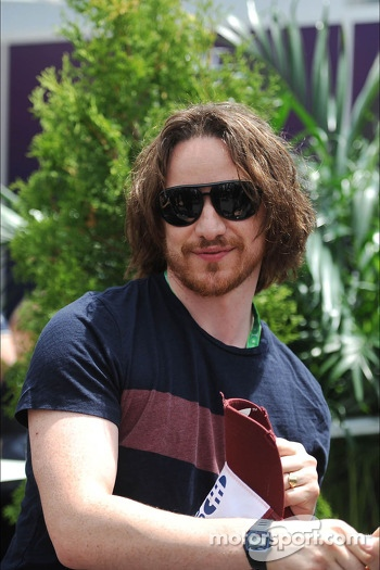 James McAvoy, Actor