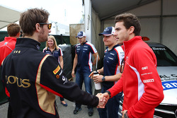 Romain Grosjean and Jules Bianchi