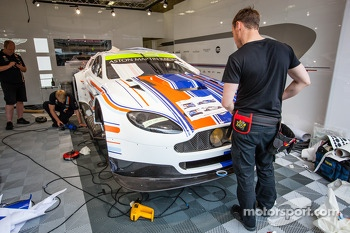 New special livery on the #97 Aston Martin Racing Aston Martin Vantage GTE