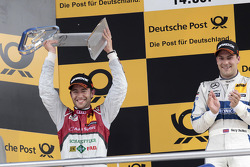 2nd Mike Rockenfeller, Audi Sport Team Phoenix Racing Audi A5 DTM
