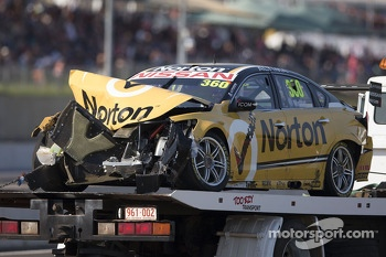Trouble for James Moffat, Norton 360 Racing