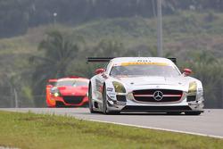 #22 R'Qs MotorSports Mercedes-Benz SLS AMG GT3: Hisashi Wada
