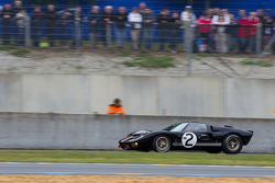 Ford GT 40 (1969) - After walking (not running) to his car for the race start, Jacky Ickx went on to win the race by a mere 120 meters in the closest finish in Le Mans history