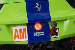 Details on the #57 Krohn Racing Ferrari F458 Italia: Tracy Krohn, Nic Jonsson, Maurizio Mediani