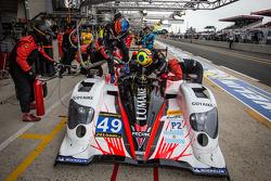Pit stop for #49 Pecom Racing Oreca 03 Nissan: Nicolas Minassian, Luis Perez-Companc, Pierre Kaffer