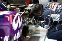 Sensor equipment on the Red Bull Racing RB9