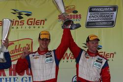 Podium GT: John Edwards, Robin Liddell #57 Stevenson Motorsports Camaro GT.R