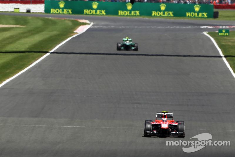 Max Chilton Marussia F1 Team MR02