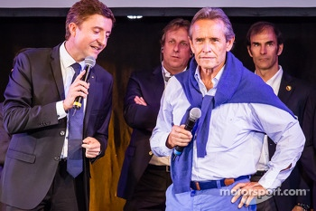 MC Bruno Vandestick and Jacky Ickx