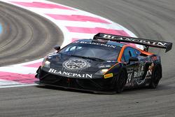 #24 Blancpain Racing: Marc A. Hayek, Peter Kox, Lamborghini LP560-4