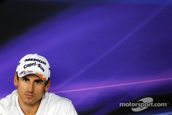 Adrian Sutil, Sahara Force India F1 in the FIA Press Conference