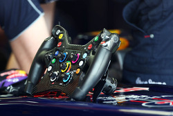 Steering wheel for Mark Webber, Red Bull Racing RB9