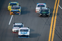 Sam Hornish Jr., Joey Logano, Brian Vickers, Regan Smith, Kyle Busch, Elliott Sadler