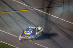 Martin Truex Jr., Michael Waltrip Racing Toyota after the crash