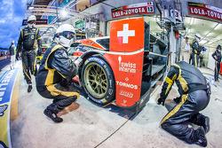 #13 Rebellion Racing Lola B12/60 Coupe Toyota: Mathias Beche, Congfu Cheng, Andrea Belicchi