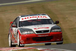 Ex Gabriele Tarquini 1997 Super Touring Honda Accord driven by Derek Hale