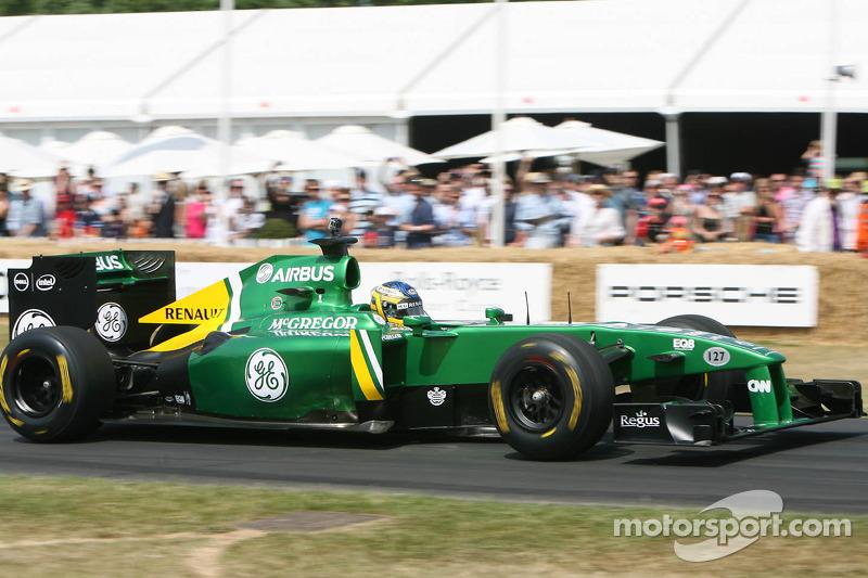 Charles Pic, Lotus T127