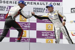 Podium: second place Nigel Melker, third place Kevin Magnussen