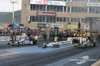 Antron Brown and Khalid Albalooshi
