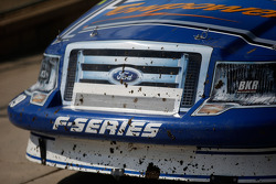 Dirt on Dave Blaney's truck
