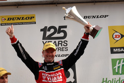 Round 18 Race Winner Gordon Shedden