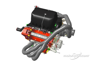 The new HPD LMP1 and LMP2 engine for 2014