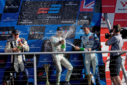 Podium from Left: Jordan King, Jazeman Jaafar and Nicholas Latfi
