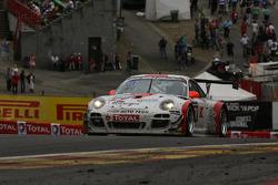 #98 Fach Auto Tech Porsche 997 GT3 R: Otto Klohs, Martin Ragginger, Sebastien Asch, Jens Richter