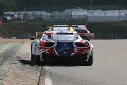 #49  AF Corse Ferrari 458 Italia: Yannick Mallegol, Jean-Marc Bachelier, Howard Blank, François Perrodo