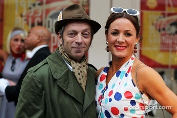 Mark Thompson, Getty Images Photographer Natalie Pinkham, Sky Sports Presenter at the Back In Time with Shell event
