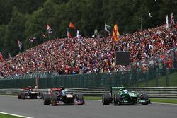 Giedo van der Garde, Caterham and Jean-Eric Vergne, Scuderia Toro Rosso