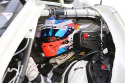 Jan Seyffarth, Nico Bastian, Lance David Arnold, ROWE RACING, Mercedes-Benz SLS AMG GT3, Portrait
